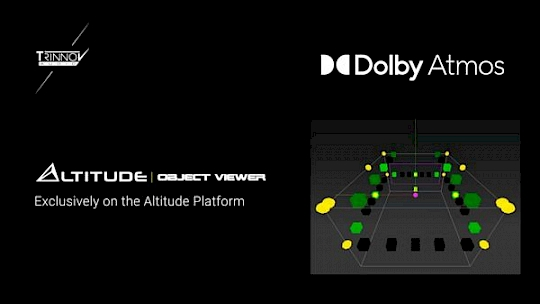 Dolby Atmos™ Object Viewer To Altitude Processors logo